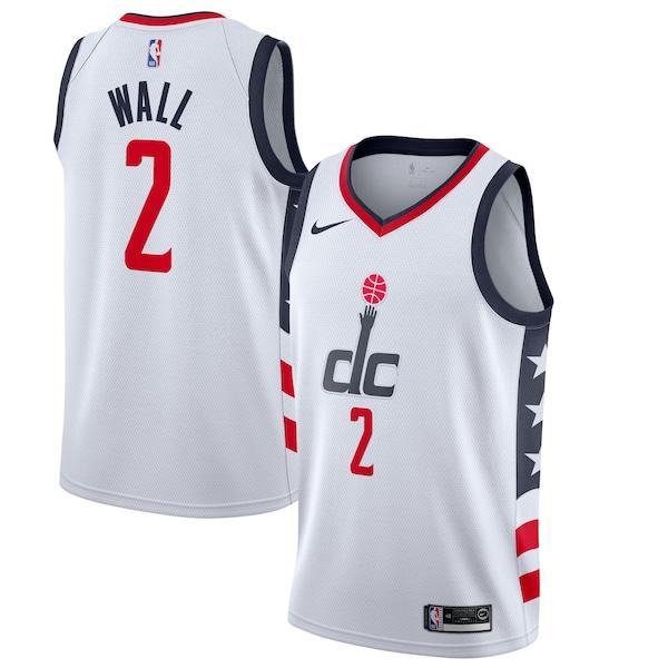NBA ジョン・ウォール ウィザーズ ユニフォーム/ジャージ シティ エディション フィニッシュド スウィングマン ナイキ/Nike