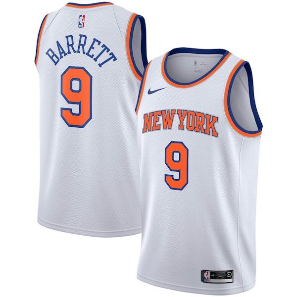 NBA R・J・バレット ニックス ユニフォーム/ジャージ アソシエーション エディション スウィングマン ナイキ/Nike
