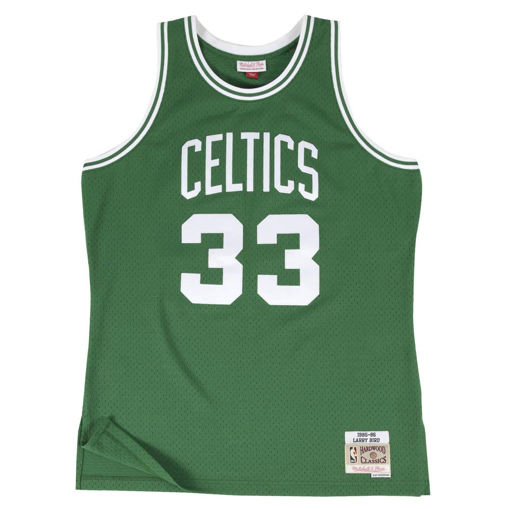 NBA ラリー・バード ボストン・セルティックス ユニフォーム/ジャージ スウィングマン ミッチェル&ネス/Mitchell & Ness グリーン