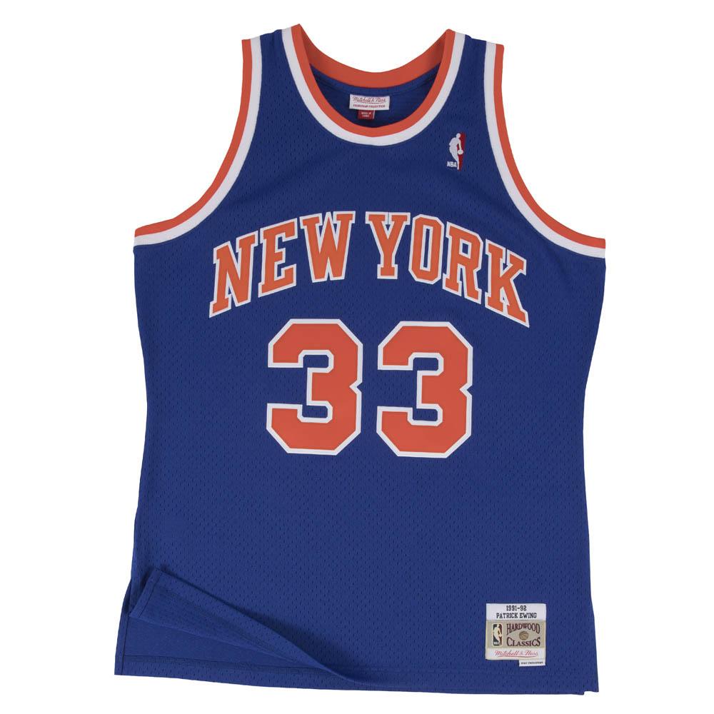 NBA パトリック・ユーイング ニューヨーク・ニックス ユニフォーム/ジャージ スウィングマン ミッチェル&ネス/Mitchell & Ness
