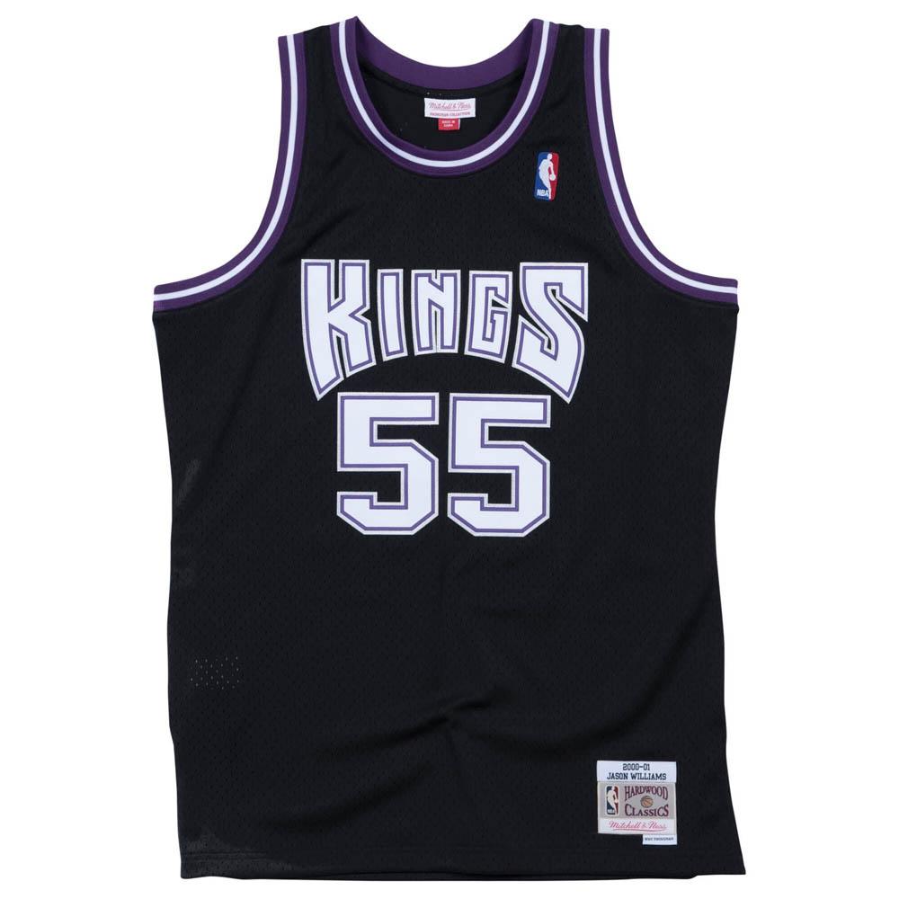 NBA ジェイソン・ウィリアムス キングス ユニフォーム/ジャージ スウィングマン ミッチェル&ネス/Mitchell & Ness ブラック