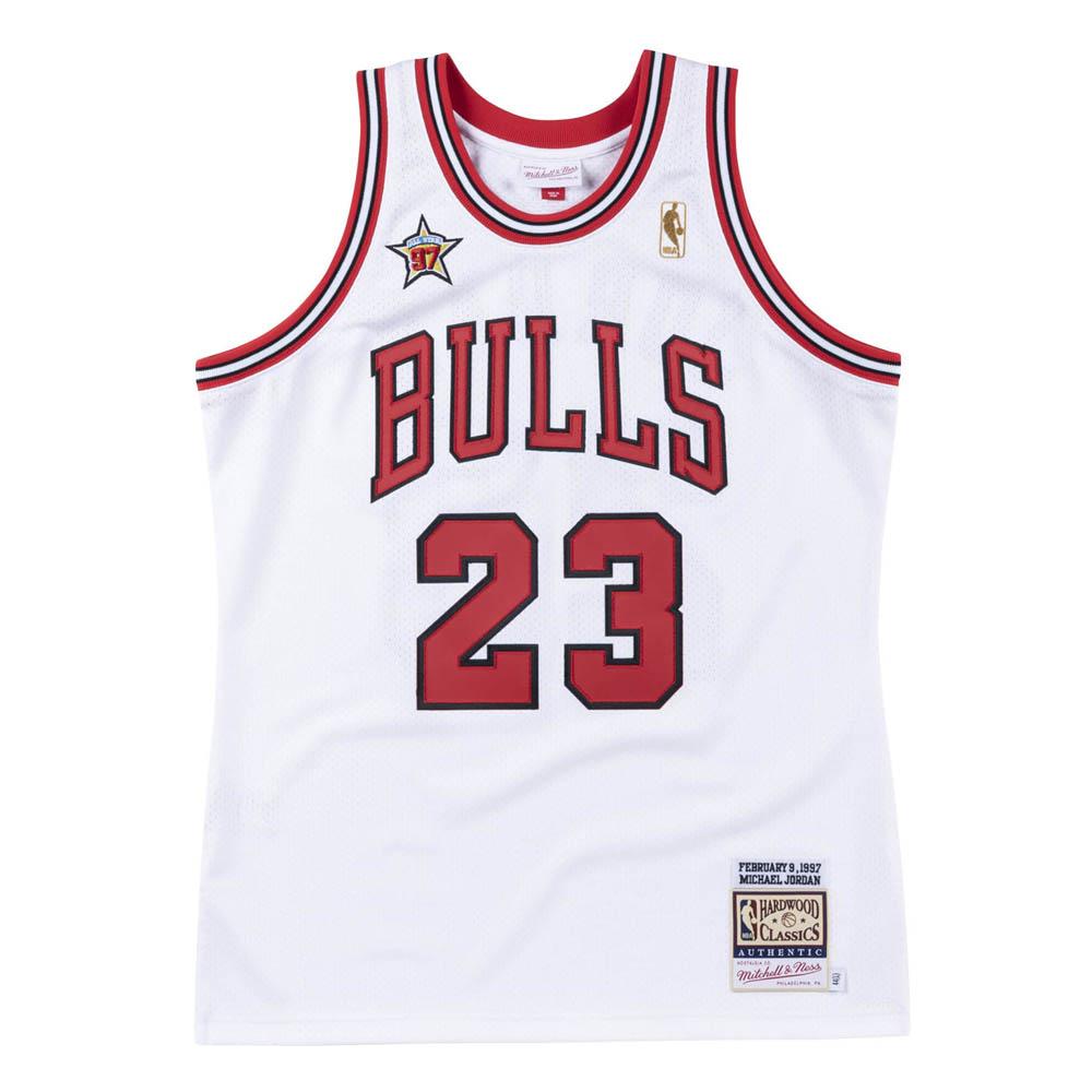 NBA マイケル・ジョーダン シカゴ・ブルズ ユニフォーム/ジャージ 1997 オーセンティック 復刻 ミッチェル&ネス/Mitchell & Ness