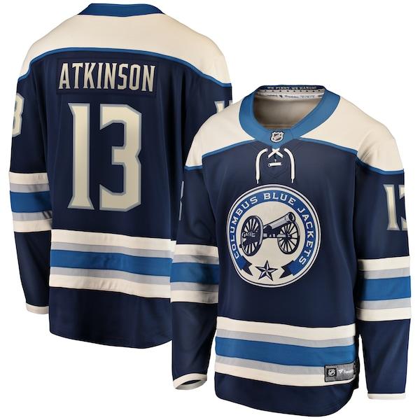 NHL キャム・アトキンソン ブルージャケッツ ユニフォーム/ジャージ プレミア ブレイクアウェイ ネイビー