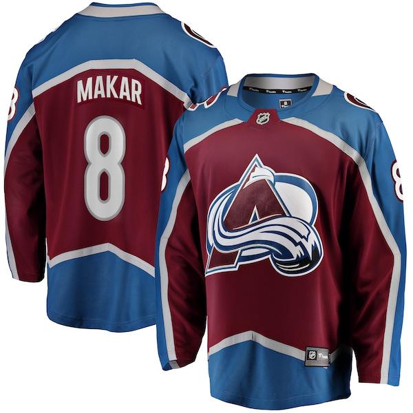 NHL ケール・マカール アバランチ ユニフォーム/ジャージ プレミア ブレイクアウェイ バーガンディ