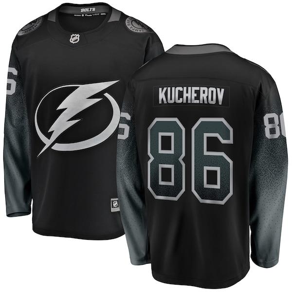NHL ニキータ・クチェロフ ライトニング ユニフォーム/ジャージ プレミア ブレイクアウェイ ブラック