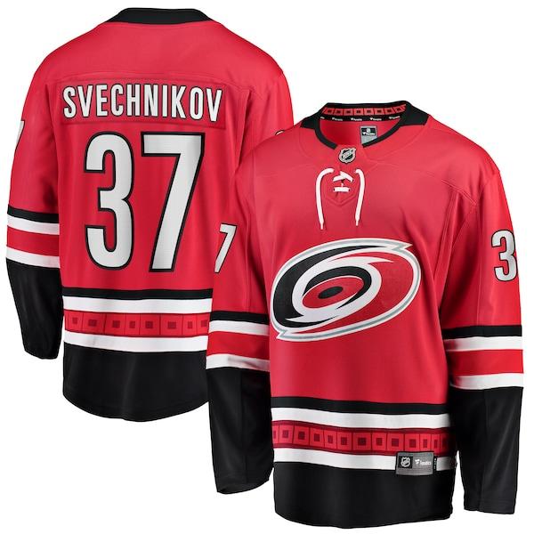 NHL アンドレイ・スヴェチニコフ ハリケーンズ ユニフォーム/ジャージ プレミア ブレイクアウェイ レッド