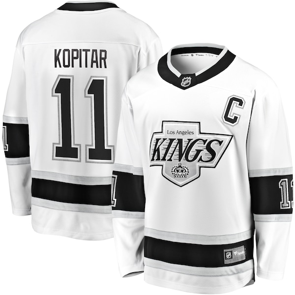 NHL アンジェー・コピター キングス ユニフォーム/ジャージ プレミア ブレイクアウェイ ホワイト