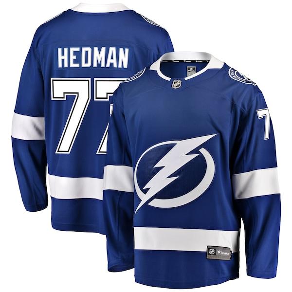 NHL ビクター・ヘドマン ライトニング ユニフォーム/ジャージ プレミア ブレイクアウェイ ブルー