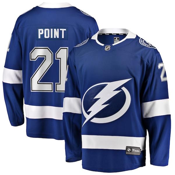 NHL ブレイデン・ポイント ライトニング ユニフォーム/ジャージ プレミア ブレイクアウェイ ブルー