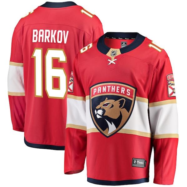 NHL アレクサンダー・バルコフ パンサーズ ユニフォーム/ジャージ プレミア ブレイクアウェイ レッド