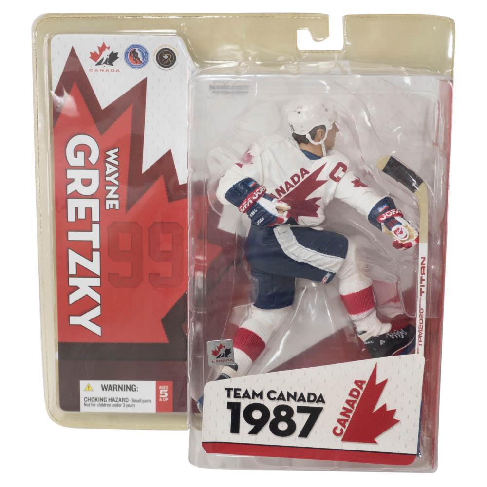 NHL ウェイン・グレツキー Canada フィギュア Team Canada 1987 Set マクファーレン/McFarlane ホーム