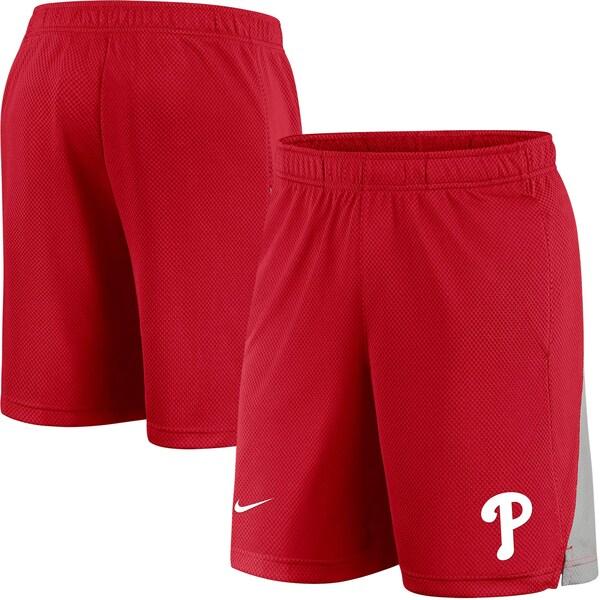 MLB フィラデルフィア・フィリーズ ショートパンツ/ショーツ チームロゴフランチャイズ ハーフパンツ ナイキ/Nike レッド