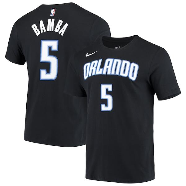 NBA モハメッド・バンバ オーランド・マジック Tシャツ ステートメント エディション ネーム & ナンバー ナイキ/Nike ブラック