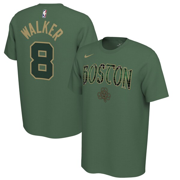 NBA ケンバ・ウォーカー ボストン・セルティックス Tシャツ 2019/2020 アーンド エディション ネーム & ナンバー ナイキ/Nike グリーン