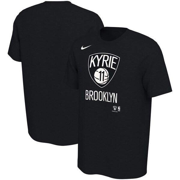 NBA カイリー・アービング ブルックリン・ネッツ Tシャツ ニュー シティ ネーム & ナンバー ナイキ/Nike ブラック
