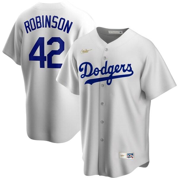MLB ジャッキー・ロビンソン ブルックリン・ドジャース ユニフォーム/ジャージ クーパーズタウン コレクション ナイキ/Nike ホワイト
