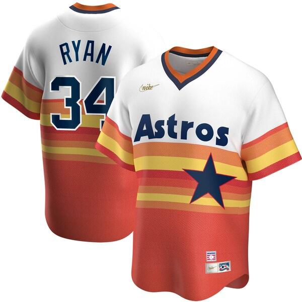 MLB ノーラン・ライアン ヒューストン・アストロズ ユニフォーム/ジャージ クーパーズタウン コレクション ナイキ/Nike ホワイト