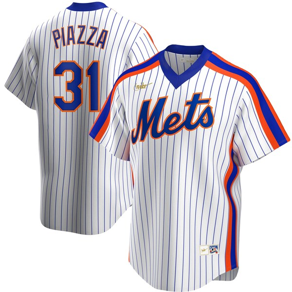 MLB マイク・ピアザ ニューヨーク・メッツ ユニフォーム/ジャージ クーパーズタウン コレクション ナイキ/Nike ホワイト
