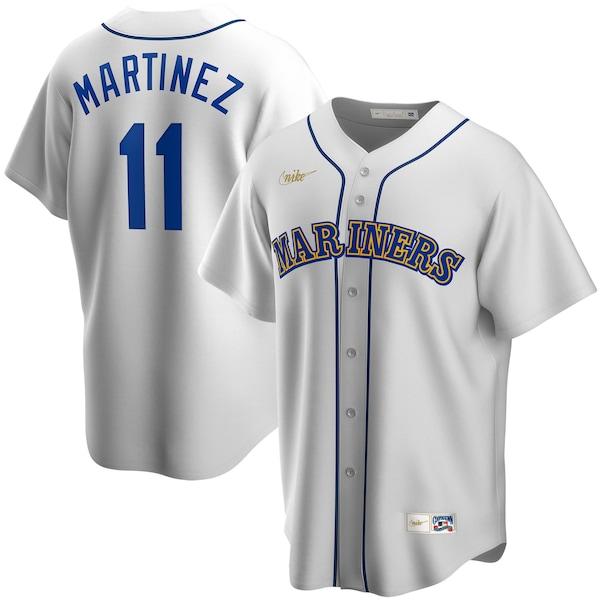 MLB エドガー・マルティネス シアトル・マリナーズ ユニフォーム/ジャージ クーパーズタウン コレクション ナイキ/Nike ホワイト