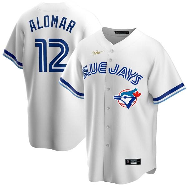 MLB ロベルト・アロマー トロント・ブルージェイズ ユニフォーム/ジャージ クーパーズタウン コレクション ナイキ/Nike ホワイト