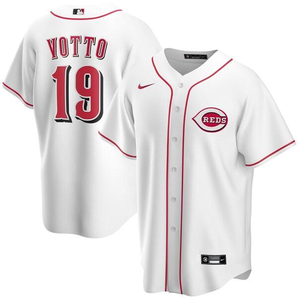 MLB ジョーイ・ボット シンシナティ・レッズ ユニフォーム/ジャージ ホーム 2020 レプリカ ナイキ/Nike ホワイト