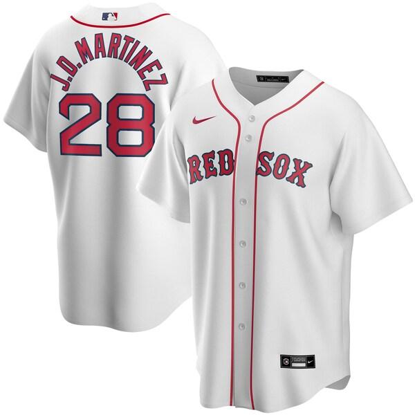 MLB フリオ・ダニエル・マルティネス ボストン・レッドソックス ユニフォーム/ジャージ ホーム 2020 レプリカ ナイキ/Nike ホワイト