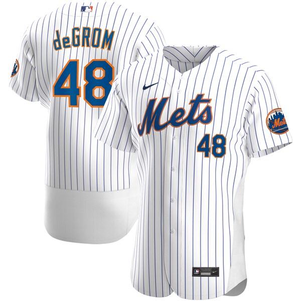 MLB ジェイコブ・デグロム ニューヨーク・メッツ ユニフォーム/ジャージ ホーム 2020 オーセンティック ナイキ/Nike ホワイト