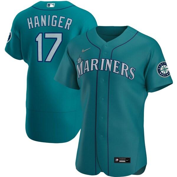 MLB ミッチ・ハニガー シアトル・マリナーズ ユニフォーム/ジャージ オルタネート 2020 オーセンティック ナイキ/Nike アクア