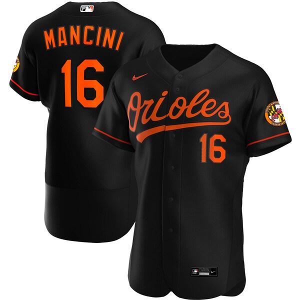 MLB トレイ・マンシーニ ボルティモア・オリオールズ ユニフォーム/ジャージ オルタネート 2020 オーセンティック ナイキ/Nike ブラック