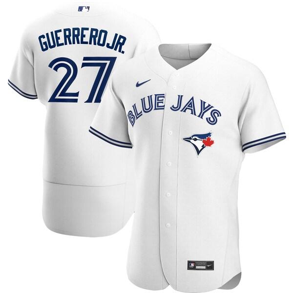 MLB ウラディミール・ゲレーロ・ジュニア ブルージェイズ ユニフォーム/ジャージ ホーム 2020 オーセンティック ナイキ/Nike ホワイト