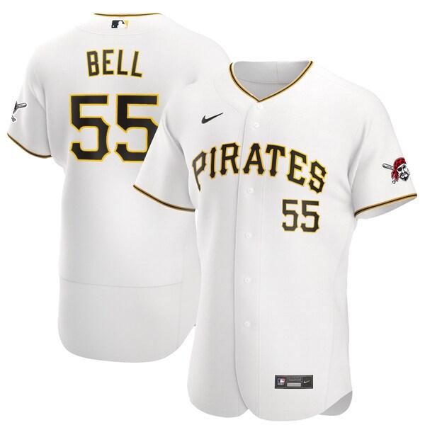 MLB ジョシュ・ベル ピッツバーグ・パイレーツ ユニフォーム/ジャージ ホーム 2020 オーセンティック ナイキ/Nike ホワイト