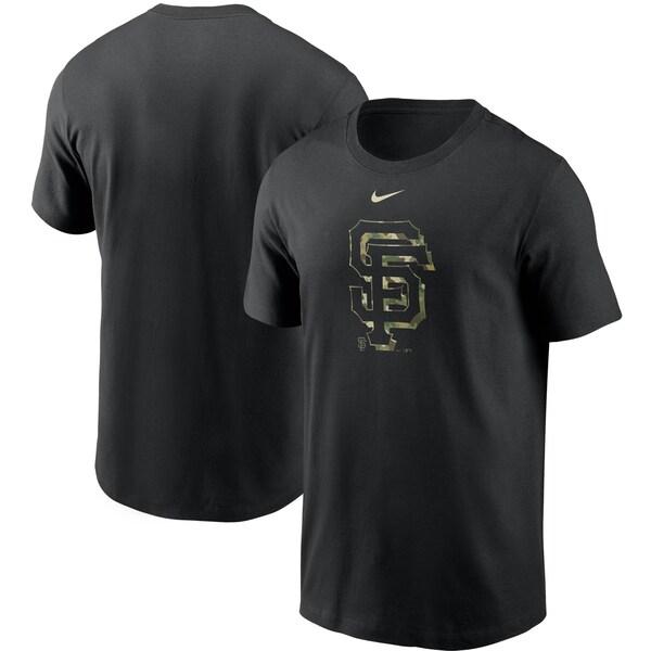 MLB サンフランシスコ・ジャイアンツ Tシャツ カモ ロゴ ナイキ/Nike ブラック