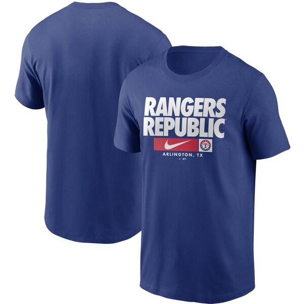MLB テキサス・レンジャーズ Tシャツ ローカル ニックネーム パフォーマンス ナイキ/Nike ロイヤル