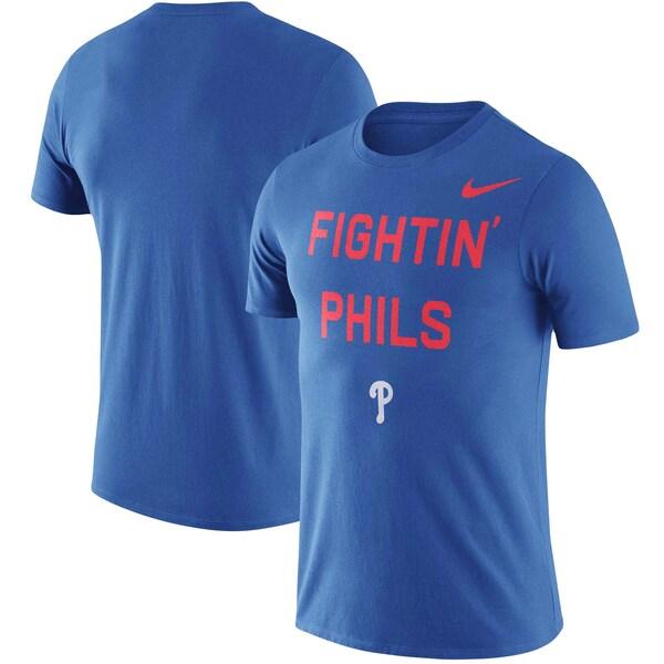 MLB フィラデルフィア・フィリーズ Tシャツ ローカル フレーズ パフォーマンス ナイキ/Nike ロイヤル