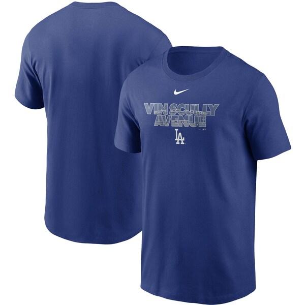MLB ロサンゼルス・ドジャース Tシャツ スタジアム フィルド ナイキ/Nike ロイヤル