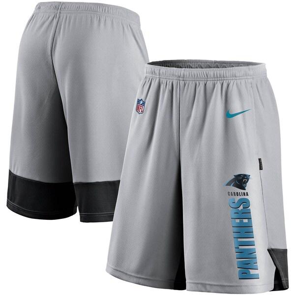 NFL パンサーズ ショートパンツ/ショーツ Player Performance Shorts ナイキ/Nike グレー/ブラック