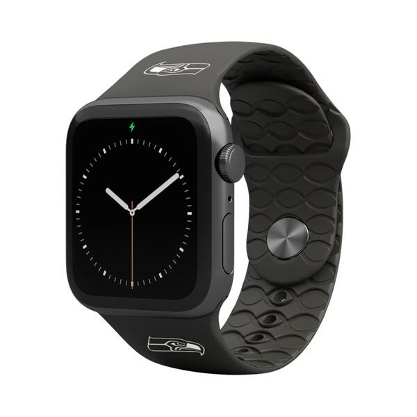 NFL シーホークス 42-44mm Apple Watch Band アップルウォッチ バンド Groove Life ブラック