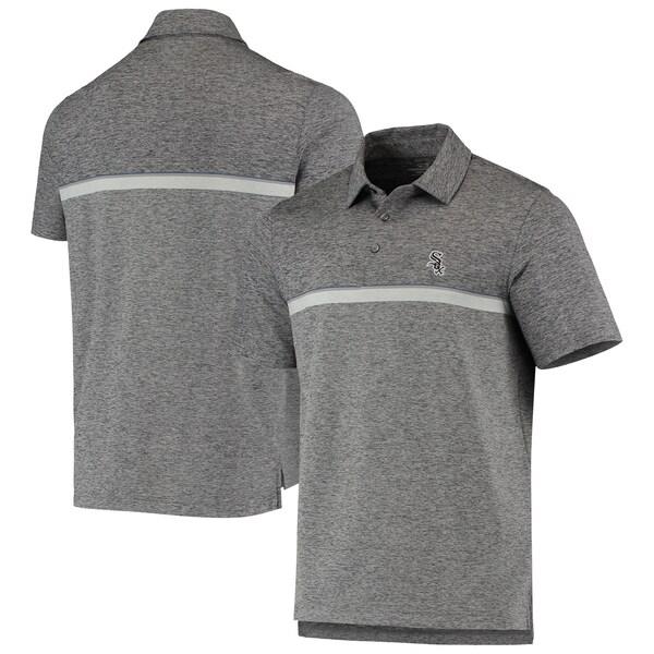 MLB シカゴ・ホワイトソックス Hawksbill Stripe Polo ポロシャツ Vineyard Vines グレー