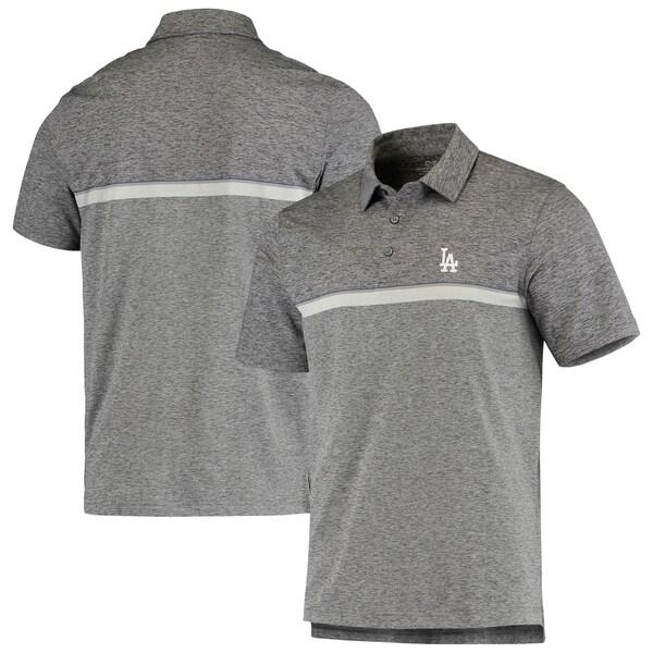 MLB ロサンゼルス・ドジャース Hawksbill Stripe Polo ポロシャツ Vineyard Vines グレー