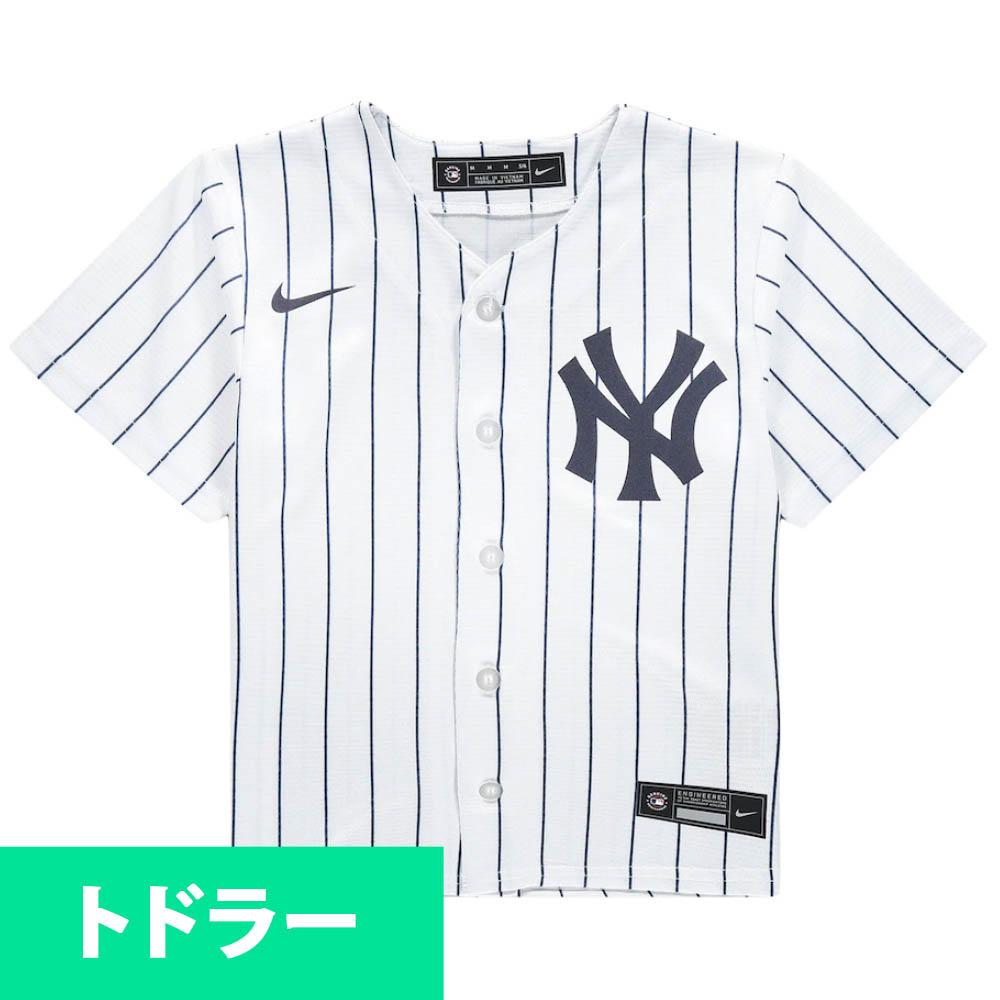 MLB ニューヨーク・ヤンキース ユニフォーム/ジャージ Toddler 2020 Replica Team ナイキ/Nike ホーム(ホワイト)