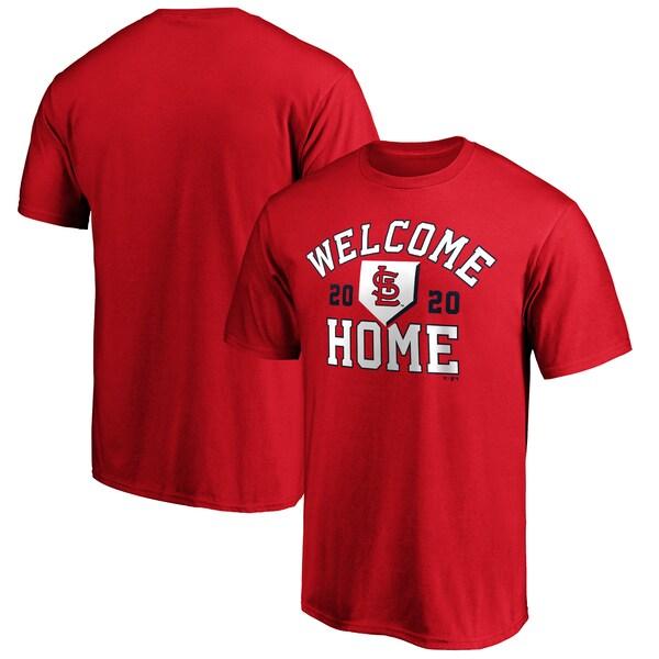 MLB セントルイス・カージナルス Tシャツ Welcome Home T-Shirt レッド