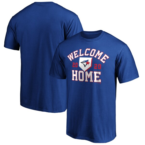 MLB トロント・ブルージェイズ Tシャツ Welcome Home T-Shirt ロイヤル