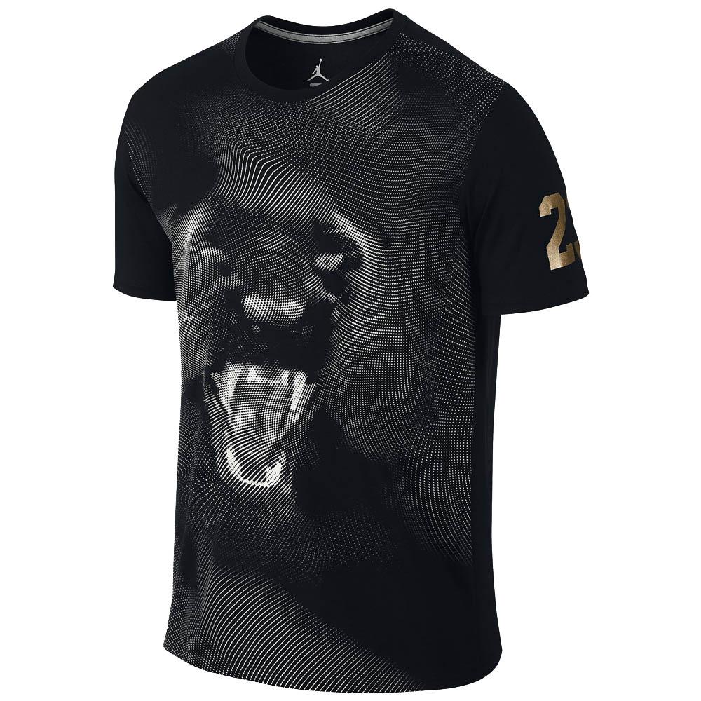JORDAN Tシャツ Jordan Phantom Panther T-Shirt ナイキ/Nike ブラック