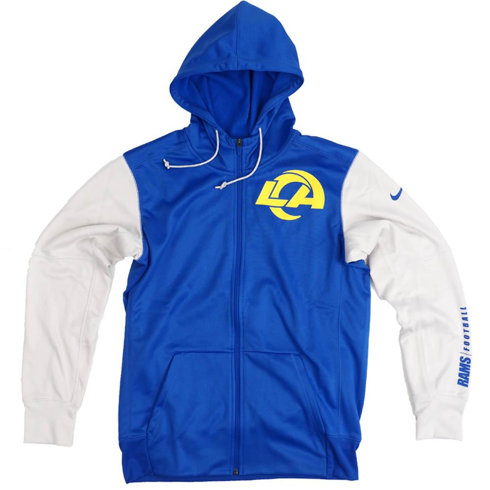 NFL ラムズ パーカー/フーディー Logo Full-Zip Hoodie ナイキ/Nike ロイヤル NKBW-CMC