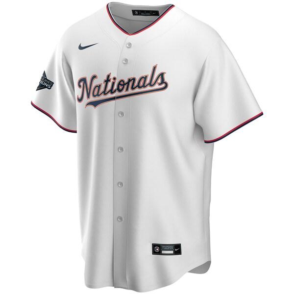 MLBトレイ?ターナーワシントン?ナショナルズユニフォーム/ジャージ2020GoldProgramReplicaナイキ/Nikeホワイトゴールド