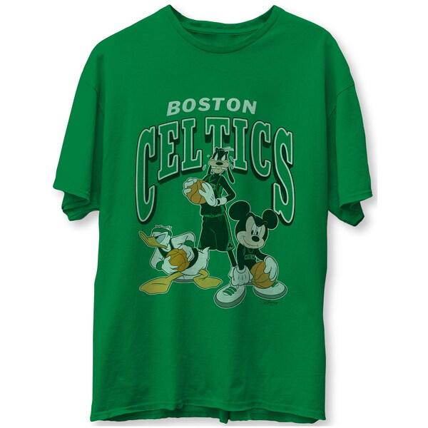 NBA ボストン・セルティックス Tシャツ ディズニー ミッキーマウス Disney Mickey Squad T-Shirt Junk Food ケリーグリーン