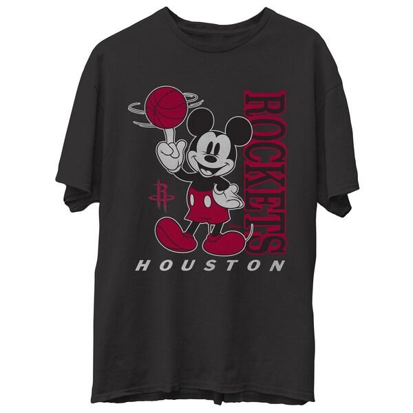 NBA ヒューストン・ロケッツ Tシャツ ディズニー ミッキーマウス Disney Vintage Mickey Baller T-Shirt Junk Food ブラック
