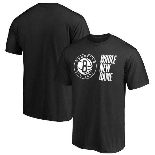 NBA ブルックリン・ネッツ Tシャツ Whole New Game Team T-Shirt ブラック