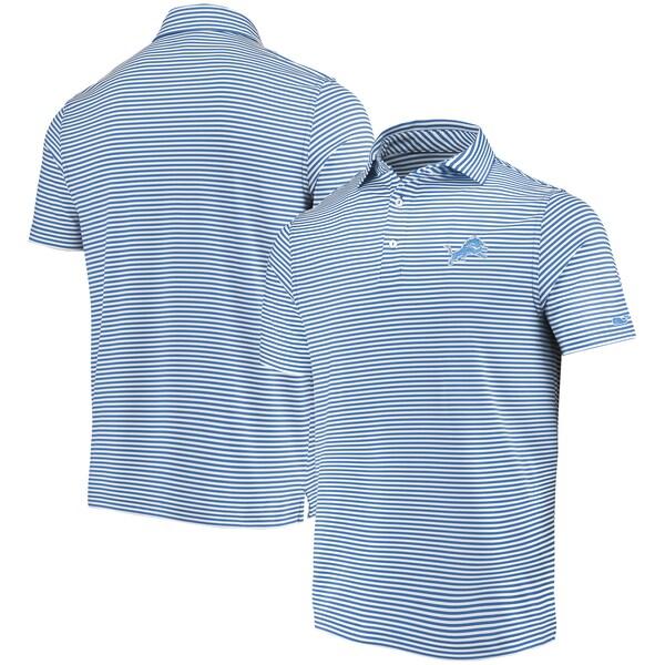 NFL ライオンズ ポロシャツ Winstead Striped Polo Vineyard Vines ブルー ホワイト