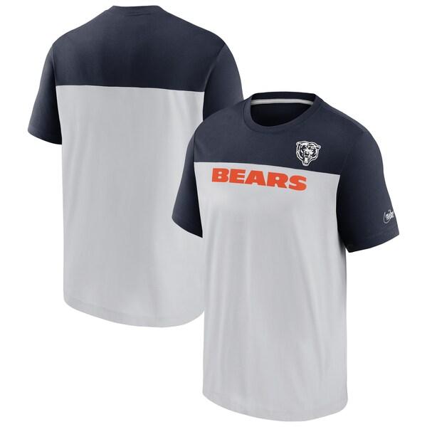 NFL ベアーズ Tシャツ Throwback Colorblock Performance T-Shirt ナイキ/Nike グレー ネイビー